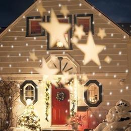 Decorazioni Natalizie Esterno Casa.Luci Di Natale Da Esterno