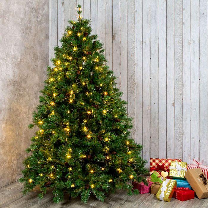 Luci Albero Natale.Tenda Di Luci Per Albero Di Natale 120 Led Flashled Bianco Classic