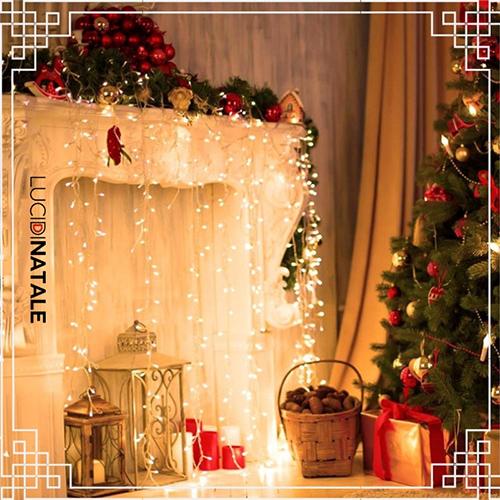 Come decorare il tuo salotto con le luci di Natale