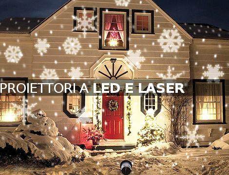 Proiettori di Natale a led e a laser