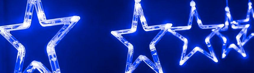 Stella Luminosa Di Natale.Decorazioni Di Natale Da Esterno