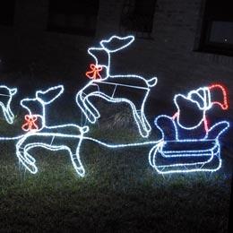 Luci di natale da esterno - Decorazioni natalizie fai da te per esterno ...