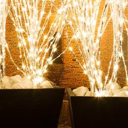 Luci di natale da esterno - Decorazioni natalizie esterne ...