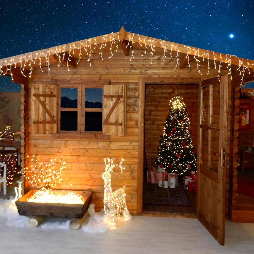 Come Creare Una Renna Luminosa kit luci christmas lights