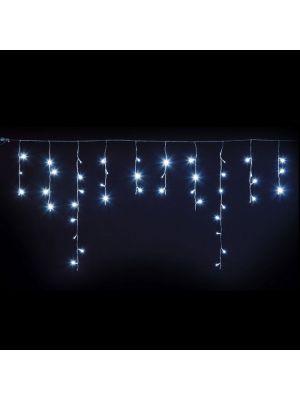 Ice light natalizio 66 Led 270 x h 80 cm - prolungabile - Flashled Diamond - bianco freddo ghiaccio