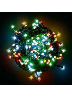 Catena luminosa 12,5 m - 300 minilucciole led con controller - multicolor