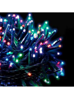 Catena luminosa extralong 8,90 m - 120 miniled con memory controller - multicolor