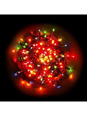 Catena luminosa Natalizia 12,5 m - 300 mini lucciole superlux multicolor