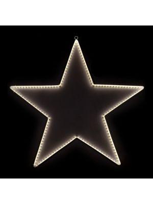 Motivo natalizio Stella 150 Ledstrip Ø 64 CM luce fissa bianco classic