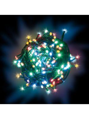 Catena Luminosa A Batteria 24 Minilucciole Led Con Memory Controller Timer    Reflex   Multicolor Da