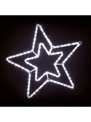 Decorazione in tubo luminoso a forma di stella