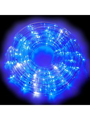 Tubo luminoso a led 8 m in confezione giochi di luce flashled diamond blu a led