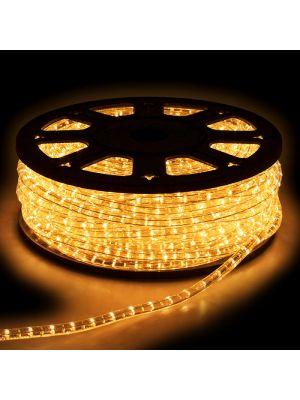 Tubo luminoso professional ad incandescenza bobina da 50 m luce fissa trasparente da esterno