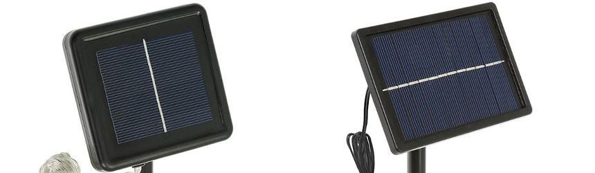 Pannelli solari per luci di Natale