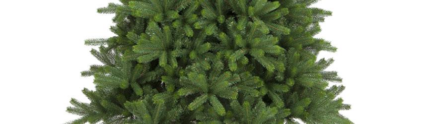 Alberi di Natale classici in pvc verde