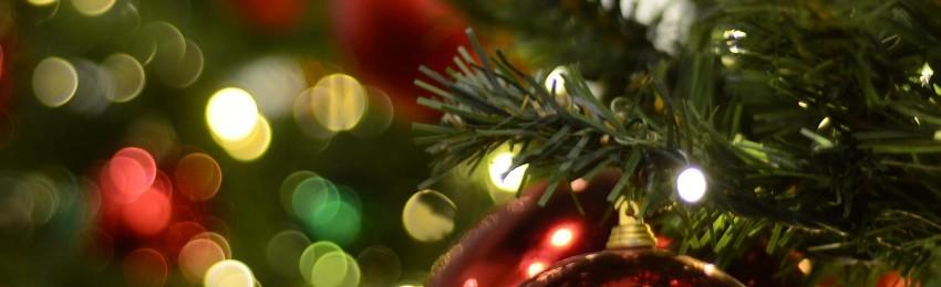 Luci di Natale lunghe