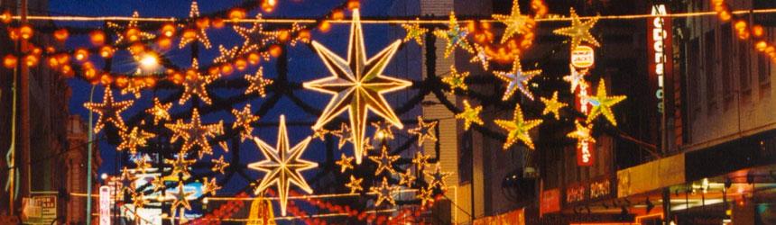 Illuminazioni di Natale per esterno
