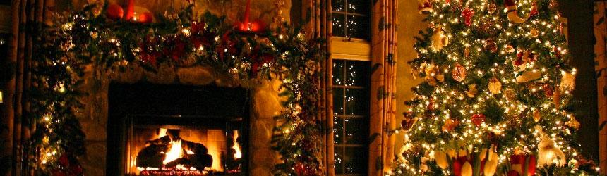 Idee per addobbare l'interno di casa durante le feste di Natale