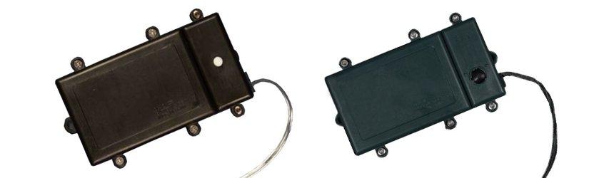 Controller e porta pile per luci di Natale a batteria