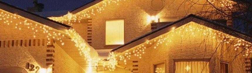 Tende e reti di luci a prezzi speciali sottocosto